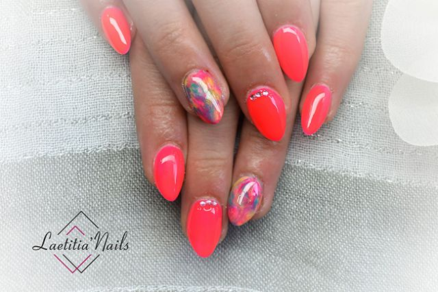 Laetitia' Nails - Abstract painting