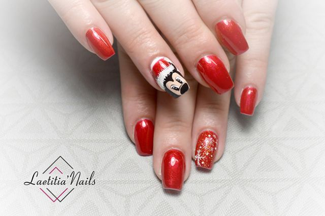 Laetitia' Nails - Christmas and Mickey