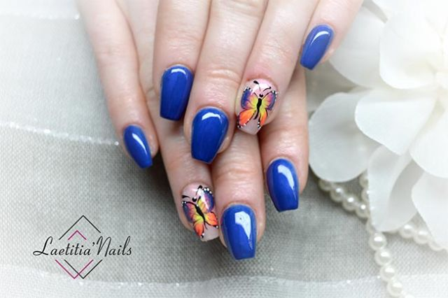 Laetitia' Nails - Fire Butterfly